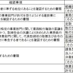経営業務管理責任者の要件緩和 (第3回)