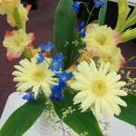 ◇今週のお花◇ グラジオラスとガーベラほか