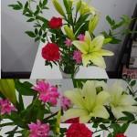 ◇今週のお花◇ ゆりとカーネーション!