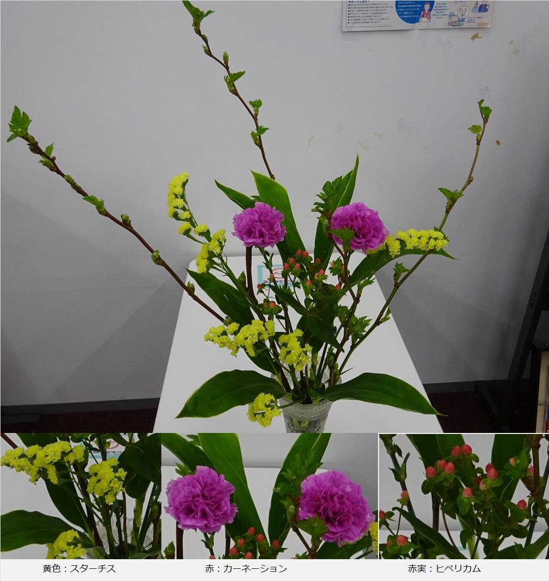 ◇今週のお花◇ 赤実はヒペリカム!