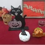 季節の飾り付け☆ハロウィン!